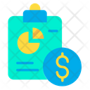 Finance Report Business Report Icon