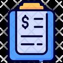 Report Business Money Icon