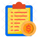 File Money Document Icon