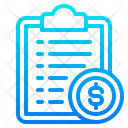 File Money Document Icon