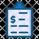 Finance Report Icon