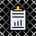 Clipboard Report Finance Icon