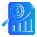 Document Search Finance Icon
