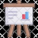 Internet Marketing Business Presentation Board Icon