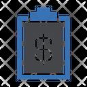 Clipboard Invoice Bill Icon