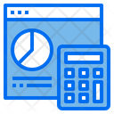 Finance Report Management Accounting Icon