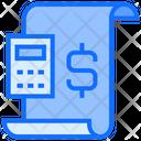 Finance Report File Dollar Icon