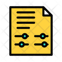 Finance Report Finance Document Financial Report Icon