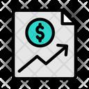 Finance Report Financial Report Finance Icon