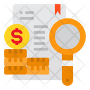 Finance Report Analysis Icon