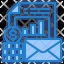Finance Report Mail Finance Report File Icon