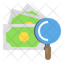 Money Data Work Icon