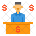 Service Finance Currency Icon