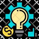Setting Financial Loan Icon