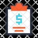 Finance Sheet Financial Sheet Notebook Icon