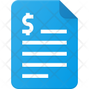 Finance Invoice Payment Icon