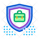 Electronic Data Protection Icon