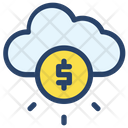 Cloud Businessman Project Icon