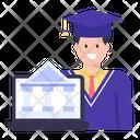 Finance Student Icon