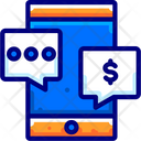 Money Talks Conversation Discussion Icon