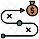 Finance Tactical Dollar Tactical Money Strategy Icon