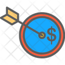 Profit Goals Achieved Flat Icon