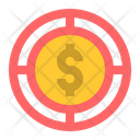 Finance Target Achievement Goal Icon