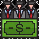 Finance Team Business Finance Icon