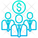 Finance Team Group Icon