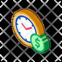 Time Money Coin Icon