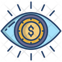 Finance Viewer Eye Marketing Icon