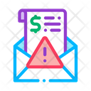 Criminal Money Fake Icon