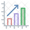 Financial Graph Market Icon