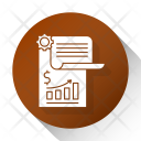 Financial Report Chart Icon