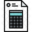 Financial Document Finance Icon