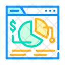 Financial Analysis Seo Icon