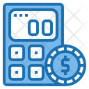 Financial Calculator Tools Account Icon