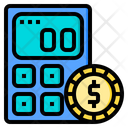 Financial Calculator Tools Account Icon