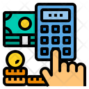 Financial Calculator Payment Icon