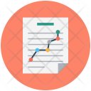 Financial Report Graphical Icon