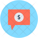 Financial Chat Finance Icon