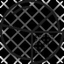 Financial Pie Ecommerce Icon