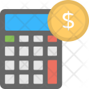 Financial Accounting Counting Icon