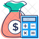 Financial Accounting Business Statement Business Calculations Icon