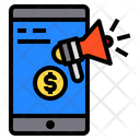Smartphone Speaker Money Icon