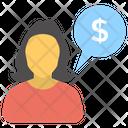 Financial Advisor Capitalist Financial Guidance Icon