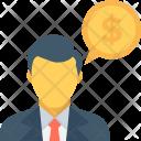 Financial Advisor Banker Icon