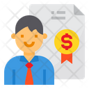 Financial Agent Icon