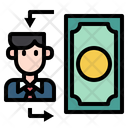 Bussiness Money Bussinessman Icon