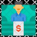 Accountant Money Financial Icon